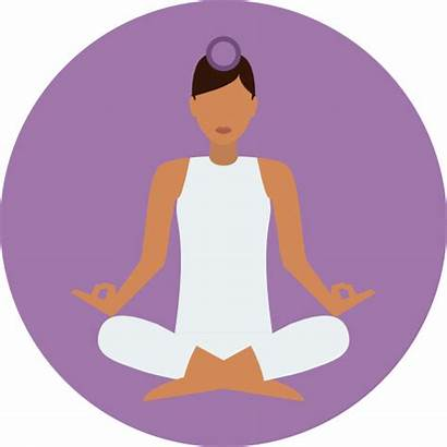 Icon Position Icons Meditation Lotus