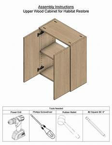 Wood Upper Cabinet Instructions By Bedderway3450