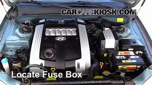 Replace A Fuse  2001-2005 Hyundai Xg350