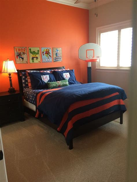orange color bedroom sherwin williams knockout orange ideas for him 12745