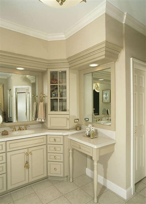 Corner Vanity Bathroom by 1000 Ideas About Corner Bathroom Vanity On