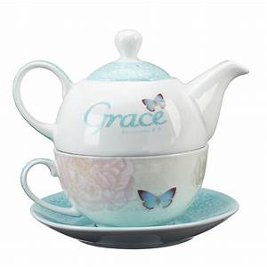 Tea For One Set : tea for one set grace butterfly blessings ~ Orissabook.com Haus und Dekorationen