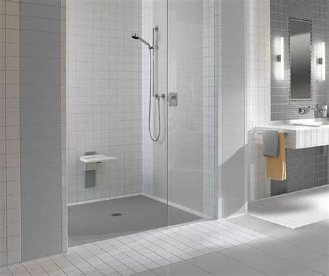 Moderne Dusche Barrierefrei by Sanit 228 R H 246 Rnlein