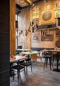 Industrial Style Shop : star burger an industrial restaurant design adorable home ~ Frokenaadalensverden.com Haus und Dekorationen