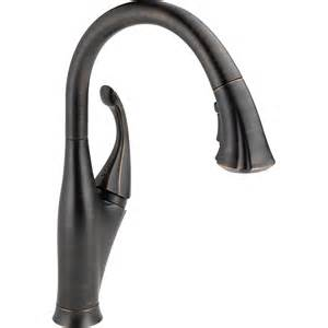 kitchen faucets clearance shop delta venetian bronze pull kitchen