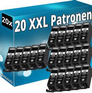 Canon pixma mg5200 patronen rechnungskauf + schnelle lieferung shop ehi geprüft patronen für canon pixma mg5200 jetzt bestellen. 20x PGI-525BK DRUCKER PATRONE für CANON IP4800 MG5100 MG5200 MG6100 MX715 MX895   eBay