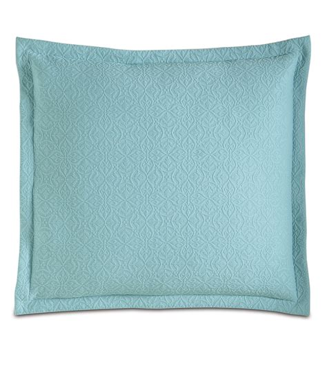 european pillow shams luxury bedding by eastern accents mea aqua sham