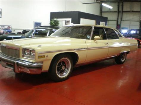 Sell Used 1976 Buick Electra 225 Limited Sedan 4-door 7.5l