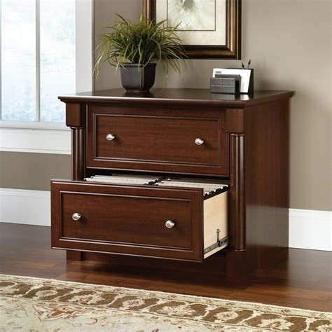 sauder lateral file cabinet assembly sauder palladia lateral file select cherry filing cabinet