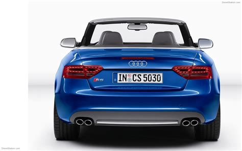 New 2018 Audi S5 Cabriolet Widescreen Exotic Car Image 04