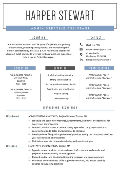 Free Resume Ideas by Creative Resume Templates Downloads Resume Genius