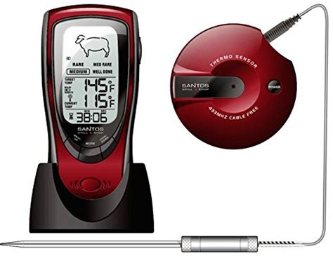 rückfahrkamera funk test santos audiodigital barbeque funk grillthermometer im test
