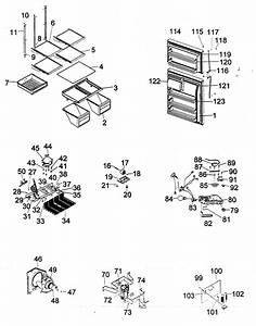 Diagram Assy Diagram  U0026 Parts List For Model Htq21jabrss