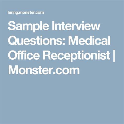 front desk receptionist interview questions best 25 sle interview questions ideas on pinterest