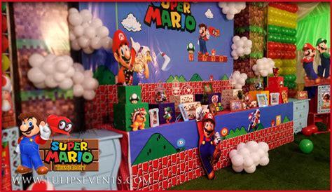 Super Mario Bros Party Best Birthday Party Planner In