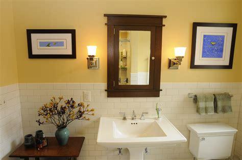 Craftsman Style Bathroom Fixtures architect fred m fargotstein craftsman bathroom renovation