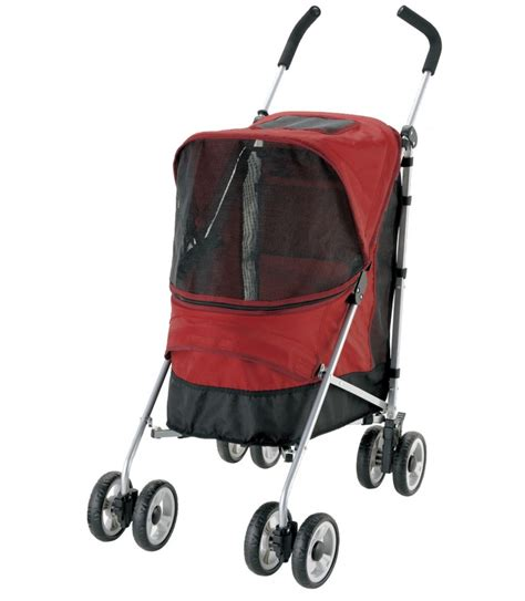 Richell Pet Trolley Red