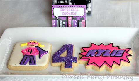 girly superhero birthday party ideas  love nerds