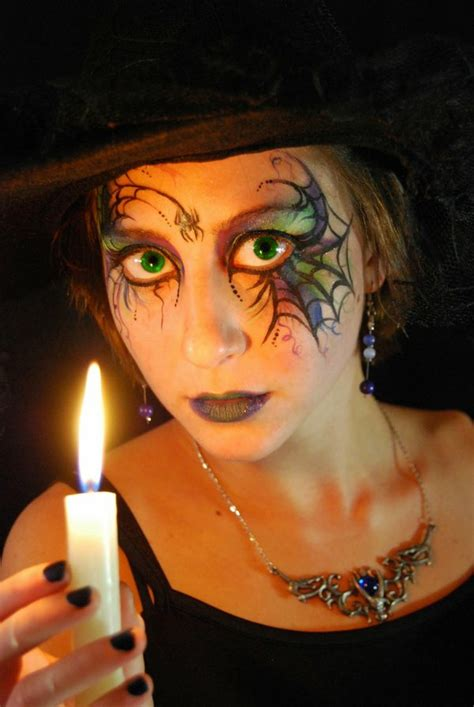 hexe schminken erwachsene make up ideen bilder hexen