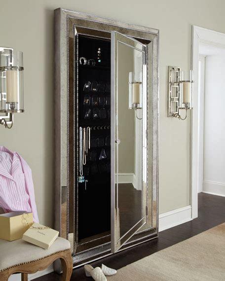 floor mirror storage furniture glam floor mirror neiman