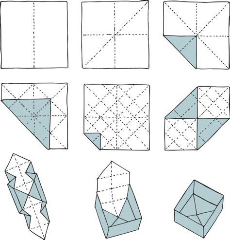 Origami Schachtel  Papier  Pinterest Schachtel