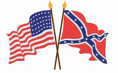 Civil Confederate Flag War American Clipart Flags