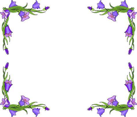 flower borders flower border clipart