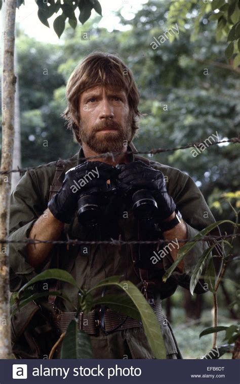 chuck norris braddock chuck norris missing in action 1984 stock photo royalty
