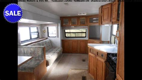 forest river sierra fk travel trailer front living