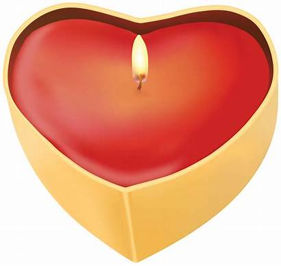 Candle Clip Heart Clipart Candles Clipartpng 2124