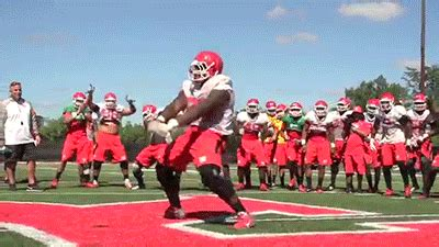 rutgers football win gif find share  giphy