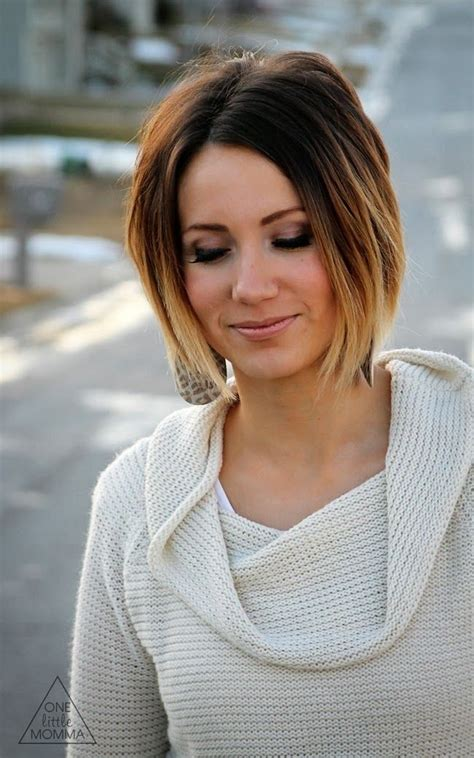 Ombre hair is trendy, modern, and elegant, and it's set to be hotter than ever in this year with unusual color combinations and new ideas for every hair type, especially bob hairstyle. 30 Super-Hot Stacked Bob Haircuts: Short Hairstyles for ...