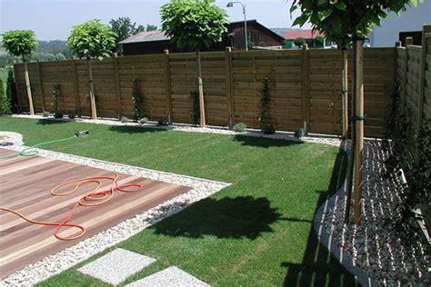 Grüner Sichtschutz Garten by Gartengestaltung Holz Heckele