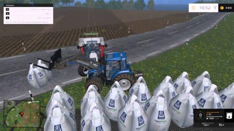 Farming Simulator 2015 Big Bag czyli Rozsiewanie Nawozów ...