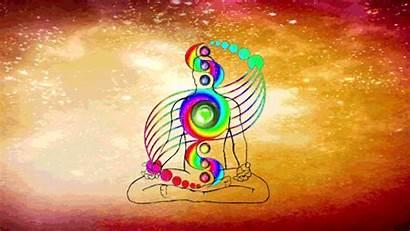 Chakra Energy Psychedelic Multi Chakras Gifs Vortex