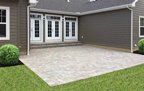 patio installation companies paver patio companies wilson s landscaping services