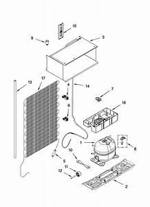 Whirlpool El1wsrxlq0 Compact Refrigerator Parts