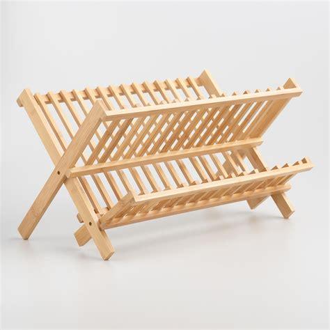 bamboo dish rack world market