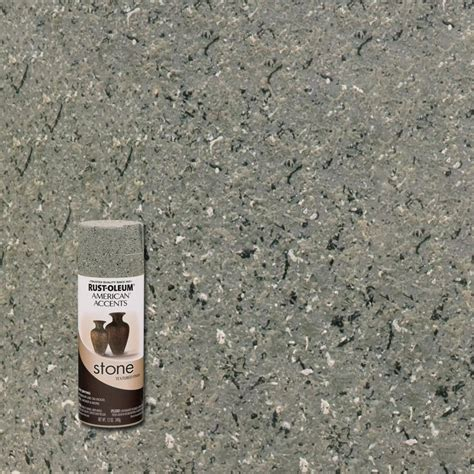 rust oleum american accents 12 oz gray textured spray paint 6 7992830 the
