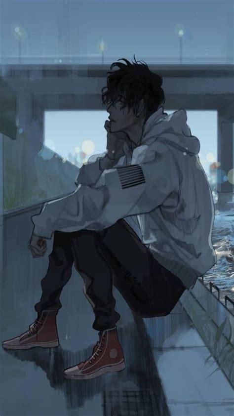 aesthetic sad anime wallpapers
