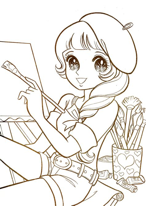 Kilari Manga Coloring Pages Archives 7376