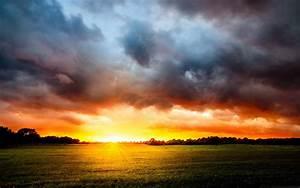 Sunlight, Stormy, Clouds, Mac, Wallpaper, Download
