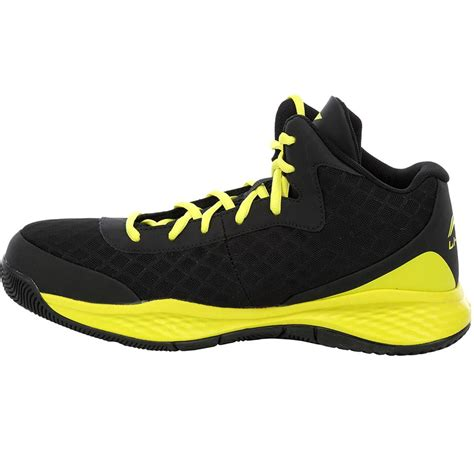 Lining ABPJ047 4 Basketball Shoes Black and Yellow - Buy
