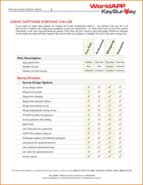 Survey Template 8 Questionnaire Template Wordreference Letters Words