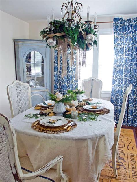 Coastalchic Holiday Table Hgtv