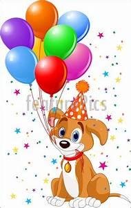 Celebration: Birthday Puppy - Stock Illustration I2553658 ...