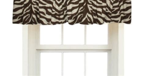 .99 Brown Zebra Animal Print Window Valance. Black Grey Cream Curtains Dunelm Dorma Ready Made White Metal Curtain Pole Rings Lined Pencil Pleat Uk Fluted Wood Rods Rod Holders No Nails Traverse Installation Instructions Retro Cow Parsley Print Eyelet
