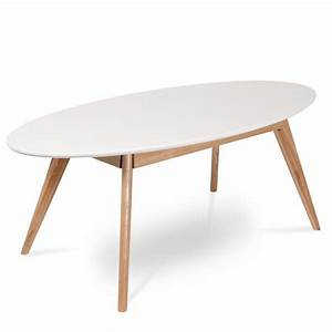 Table De Jardin Ovale : table basse scandinave ovale skoll by drawer ~ Dailycaller-alerts.com Idées de Décoration