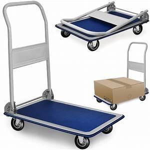 Chariot De Transport Pliable : chariot de transport 150 kg diable platforme pliable roues ~ Edinachiropracticcenter.com Idées de Décoration
