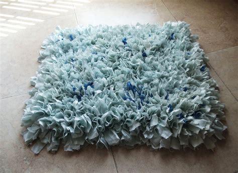 fluffy bathroom rugs fluffy upcycled rag rug bath mat